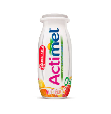 ACTIMEL leche multifruta 0% x100cc