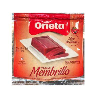 ORIETA membrillo x500g.pouch