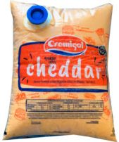 CREMIGAL queso untable cheddar x4kg.