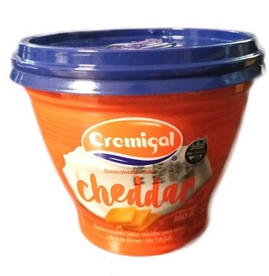CREMIGAL queso untable cheddar x190g