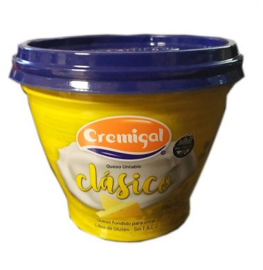 CREMIGAL queso untable clasico x190g