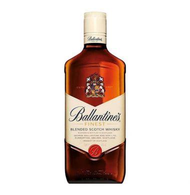 BALLANTINES whisky x750cc