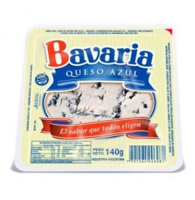 BAVARIA queso azul trozado x140g