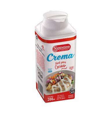 SERENISIMA crema leche cocinar x200cc