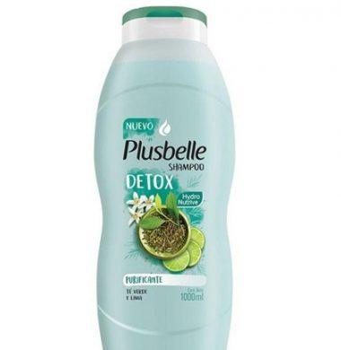 PLUSBELLE shampoo te verde/lima x1lt
