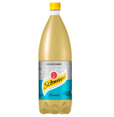 SCHWEPPES gas. pomelo x2,25lt