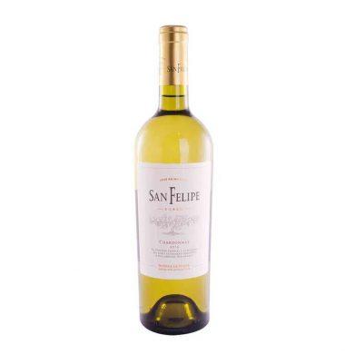 SAN FELIPE vino chardonay x750cc