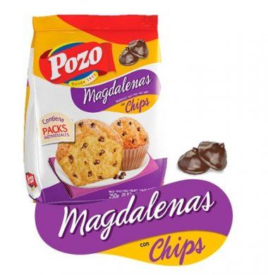 POZO madalena c/chips choc. x200g