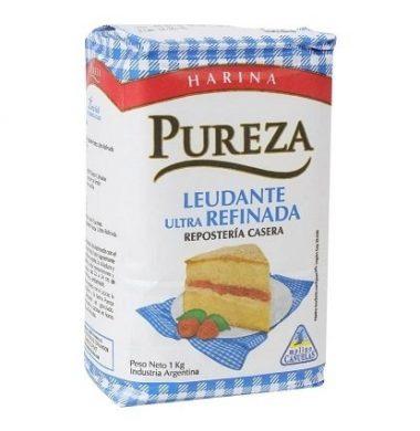 PUREZA harina leudante 0% sodio x1 kilo