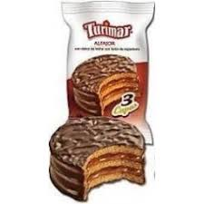 TURIMAR alfajor triple chocolate x60Gra