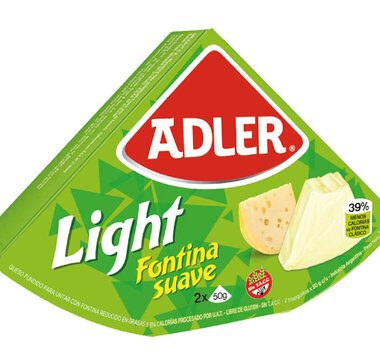 ADLER queso light x100g