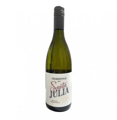 SANTA JULIA vino chardonnay x750cc
