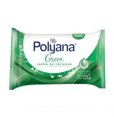 POLYANA jabon tocador green x125Gra