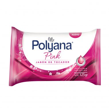 POLYANA jabon tocador pink x125Gra
