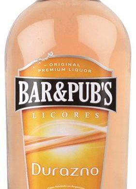 BAR PUBS licor durazno x1lt