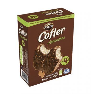 COFLER helado almendras x4Un.