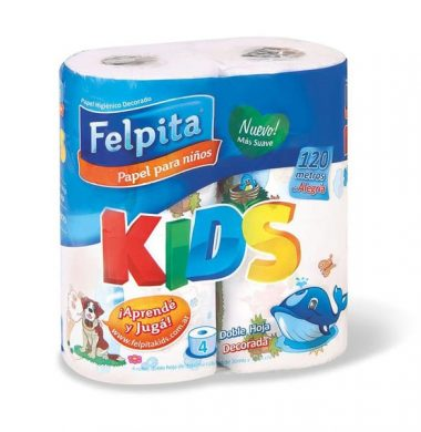 FELPITA hig.d/h decor. kids 30mt x4Un.