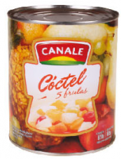 CANALE coctel 5fta frutas x820g
