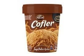 COFLER helado super dulce de leche x250g