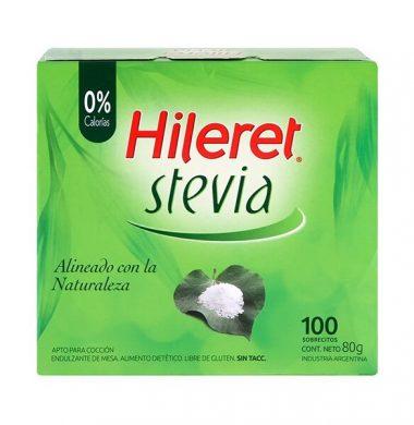 HILERET edulc. stevia x100Uni