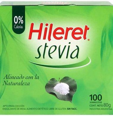 HILERET edulcorante stevia x100u