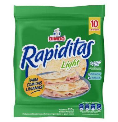 BIMBO rapiditas tortillas light x10u