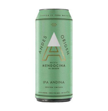 ANDES cerveza ipa x473cc
