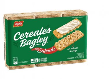 BAGLEY galletitas salvado x507g