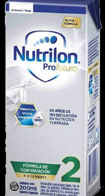 NUTRILON prem 2 s/tacc x200cc