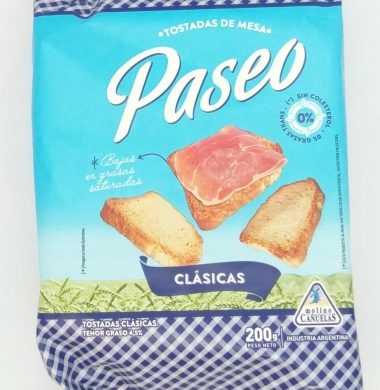 PASEO tost. clasica x200g