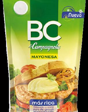 CAMPAGNOLA mayonesa B/C doy pack x965g