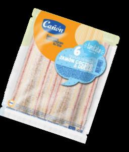 CANON sandw.miga jamon/queso x6Un.