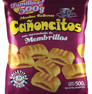 KOKIS galletitas canoncitos x500Gra