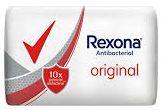 REXONA jabon tocador antibacterial original x90g