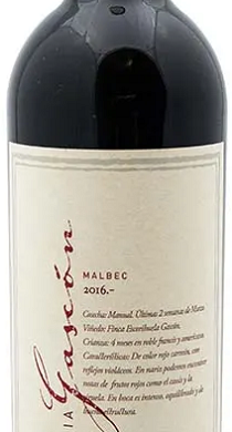 FAMILIA GASCON vino tinto malbec x750cc