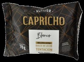 CAPRICHO alfajor blanco x70Gra