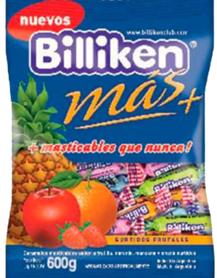 BILLIKEN caramelos masticables x600g