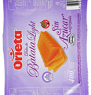 ORIETA dulce batata sin azucar x400g