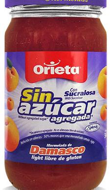 ORIETA merm.s/azucar damasco x340gfco.