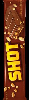 SHOT chocolate con mani x90g
