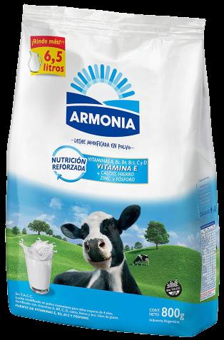 ARMONIA leche en polvo x800g