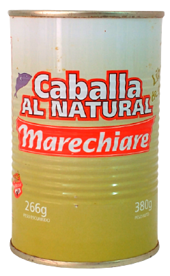 MARECHIARE caballa natural x380g