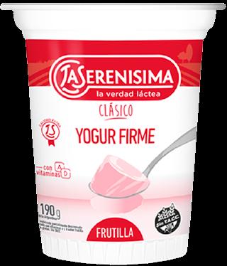 YOGURISIMO yogur firme frutilla x190g