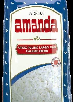 AMANDA arroz largo fino x500g