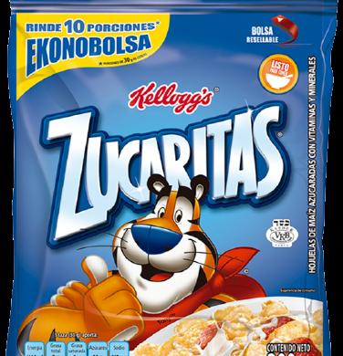 KELLOGGS zucaritas copos cereal azucarados x300g