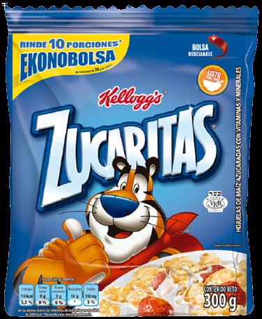ZUCARITAS cereales x300g