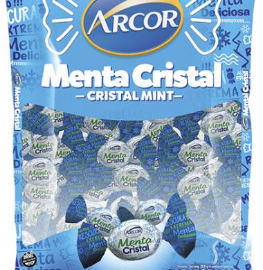 ARCOR caramelos menta cristal x150g