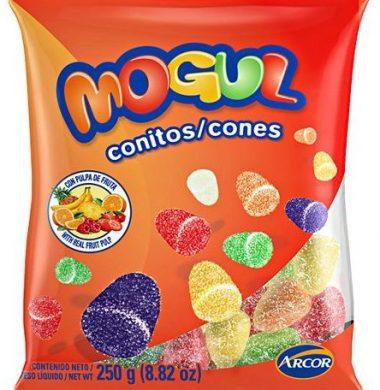 ARCOR mogul gomitas conitos frutales x220g