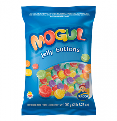ARCOR mogul gomitas jelly buttons x220g