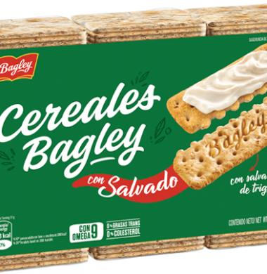 BAGLEY galletita salvado cereales x507Gra